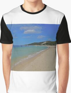 Beach, Tangalooma, Queensland, Australia Graphic T-Shirt