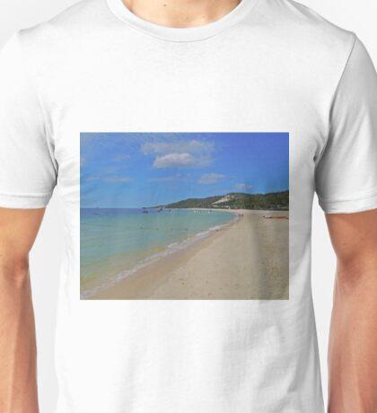 Beach, Tangalooma, Queensland, Australia Unisex T-Shirt