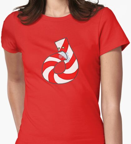Candy Cannibal Womens Fitted T-Shirt