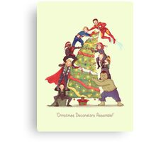 Decorators Assemble! Canvas Print
