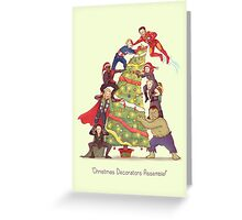 Decorators Assemble! Greeting Card