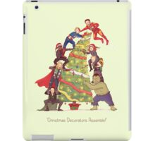 Decorators Assemble! iPad Case/Skin