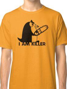 Killer Penguin Funny Man Tshirt Classic T-Shirt