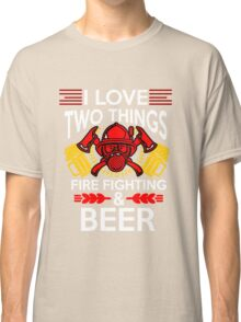 Firefighter Beer Classic T-Shirt