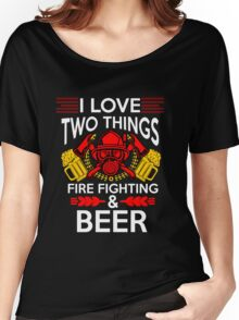 Firefighter Beer Women's Relaxed Fit T-Shirt