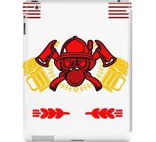 Firefighter Beer iPad Case/Skin