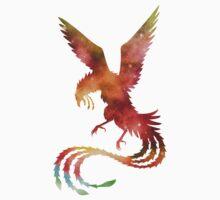 Galaxy Phoenix One Piece - Short Sleeve