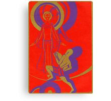 Alien Goddess Canvas Print
