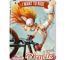 I want to ride my bicycle iPad Case/Skin