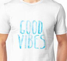 good vibes bluu Unisex T-Shirt
