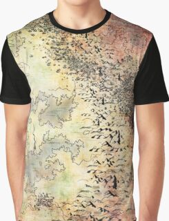 Fantasy Map Graphic T-Shirt