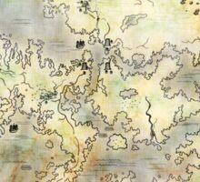 Fantasy Map Sticker