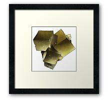 Pyrite Framed Print