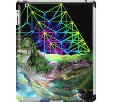 Time travel to the other lands. iPad Case/Skin