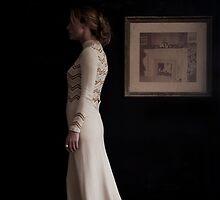 Portrait of Woman  by Kim-maree Clark