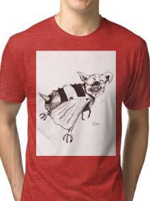 Bee Bat Tri-blend T-Shirt