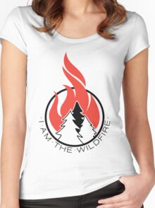 I am the Wildfire Women's Fitted Scoop T-Shirt