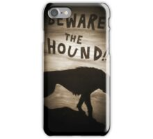 Sherlock Beware the Hound iPhone Case/Skin