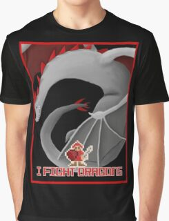 I Fight Dragons Fan  Graphic T-Shirt