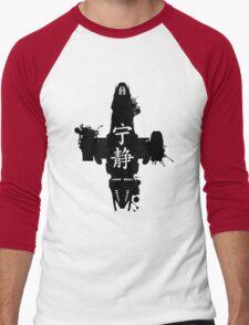 Firefly Serenity Ink Blot Men's Baseball ¾ T-Shirt