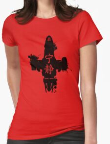 Firefly Serenity Ink Blot Womens Fitted T-Shirt