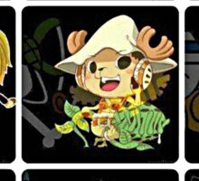 Chopper Straw Hats One piece Sticker