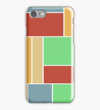 Abstract #347 1960s Palette iPhone Case/Skin