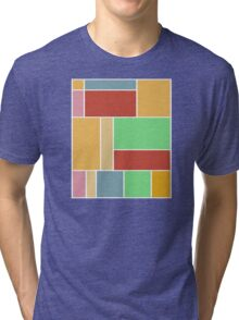 Abstract #347 1960s Palette Tri-blend T-Shirt