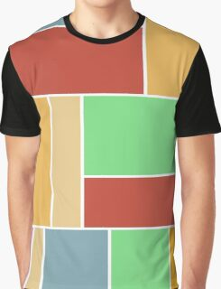 Abstract #347 1960s Palette Graphic T-Shirt