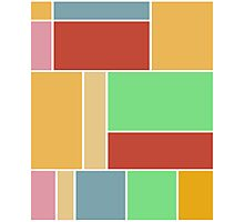 Abstract #347 1960s Palette Photographic Print