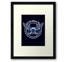 Do not drink & fly Framed Print