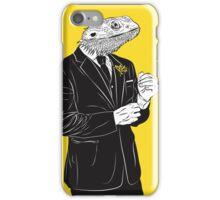 Dapper Lizard iPhone Case/Skin