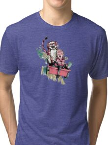 Calvin And Hobbes Fast Tri-blend T-Shirt
