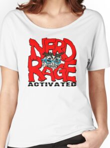 Nerd Rage Activated  Funny Men's Tshirt Women's Relaxed Fit T-Shirt