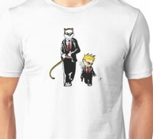 Calvin And Hobbes Partners In Crime Unisex T-Shirt