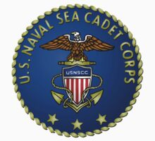 Sea Cadets Seal and Emblem Kids Tee
