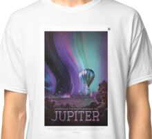 Experience the Mighty Auroras of Jupiter Classic T-Shirt