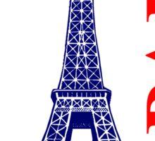 Paris-Eiffel Tower  Sticker