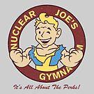Nuclear Joe's Average Gym by Crocktees