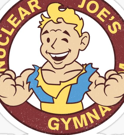 Nuclear Joe's Average Gym Sticker