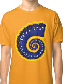 Doctor Who - TARDIS Spiral Classic T-Shirt