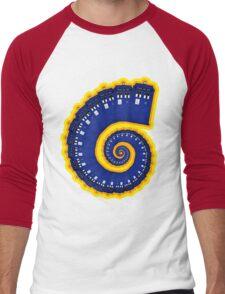 Doctor Who - TARDIS Spiral Men's Baseball ¾ T-Shirt