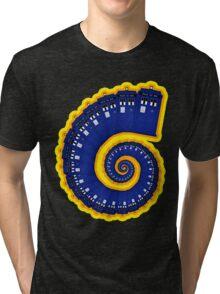 Doctor Who - TARDIS Spiral Tri-blend T-Shirt