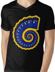 Doctor Who - TARDIS Spiral Mens V-Neck T-Shirt