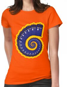 Doctor Who - TARDIS Spiral Womens Fitted T-Shirt