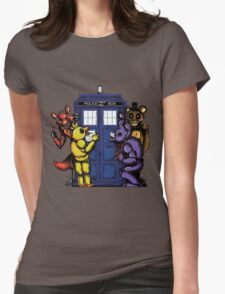 The Animatronics Have the Phone Box  Womens Fitted T-Shirt