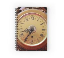old clock of wall Spiral Notebook