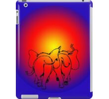 Elephant Sunset  iPad Case/Skin
