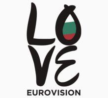 LOVE Eurovision [Bulgaria] Kids Tee