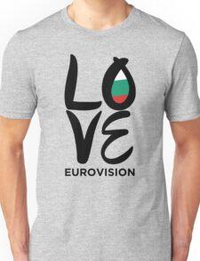 LOVE Eurovision [Bulgaria] Unisex T-Shirt